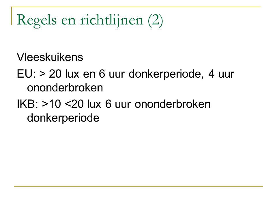 Regels en richtlijnen (2)