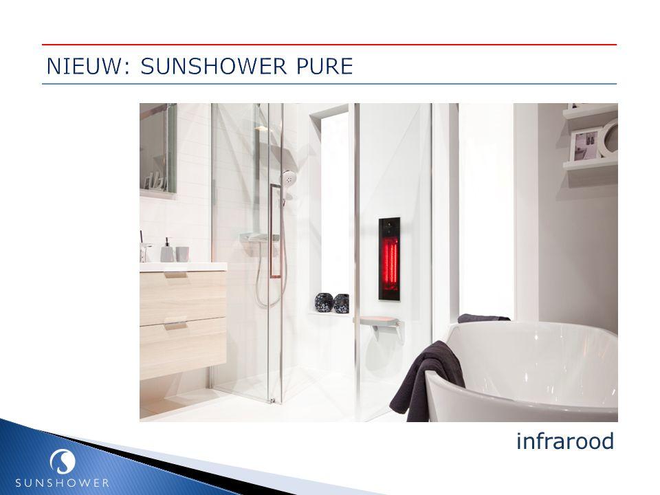NIEUW: SUNSHOWER PURE infrarood