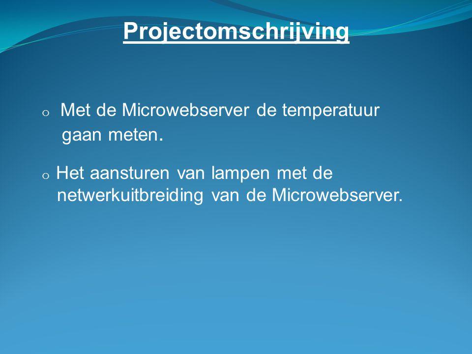 Projectomschrijving gaan meten.