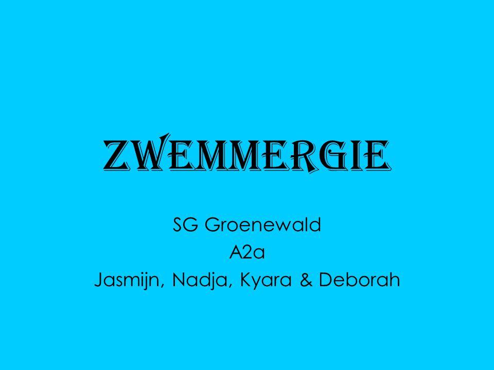 SG Groenewald A2a Jasmijn, Nadja, Kyara & Deborah