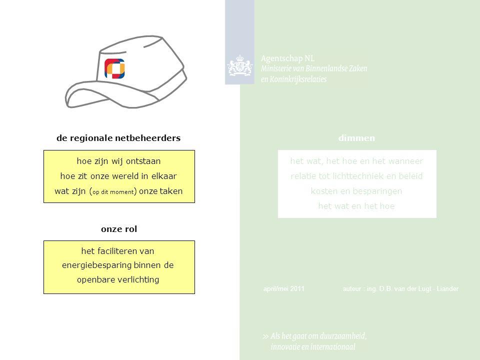 de regionale netbeheerders