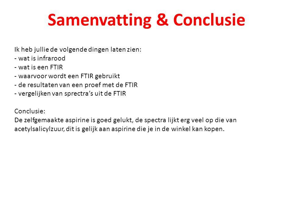 Samenvatting & Conclusie