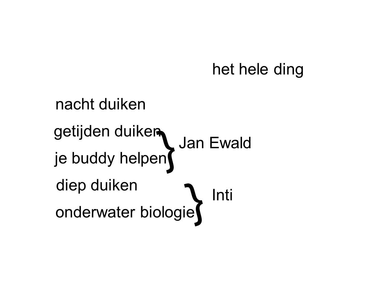 } } het hele ding nacht duiken getijden duiken Jan Ewald
