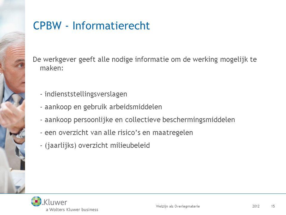 CPBW - Informatierecht