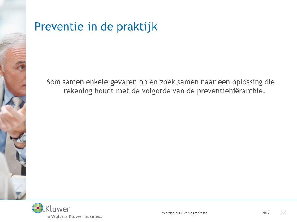 Preventie in de praktijk