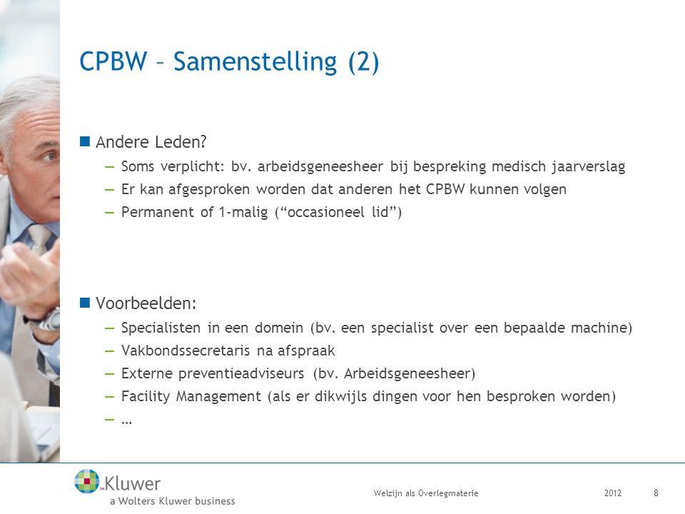 CPBW – Samenstelling (2)