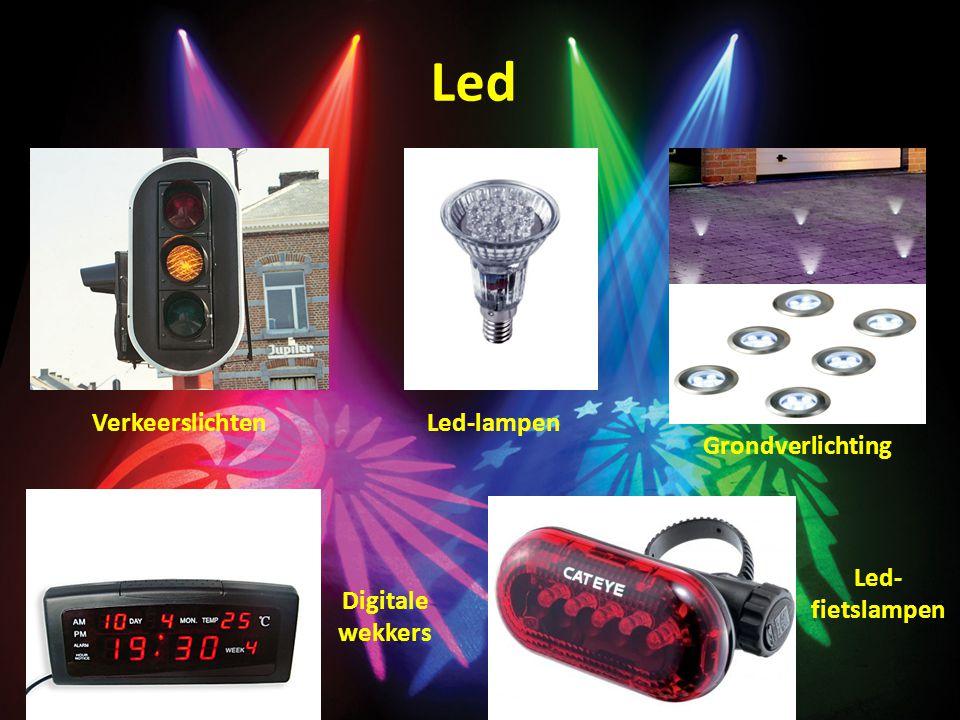 Led Verkeerslichten Led-lampen Grondverlichting Led-fietslampen
