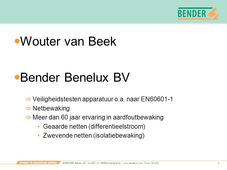 Wouter van Beek Bender Benelux BV