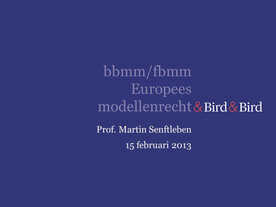 bbmm/fbmm Europees modellenrecht