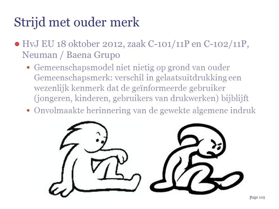 Strijd met ouder merk HvJ EU 18 oktober 2012, zaak C-101/11P en C-102/11P, Neuman / Baena Grupo.