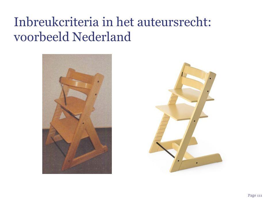 Inbreukcriteria in het auteursrecht: voorbeeld Nederland