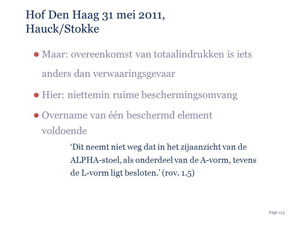 Hof Den Haag 31 mei 2011, Hauck/Stokke