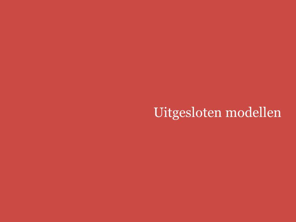 Uitgesloten modellen Europees modellenrecht | bbmm/fbmm
