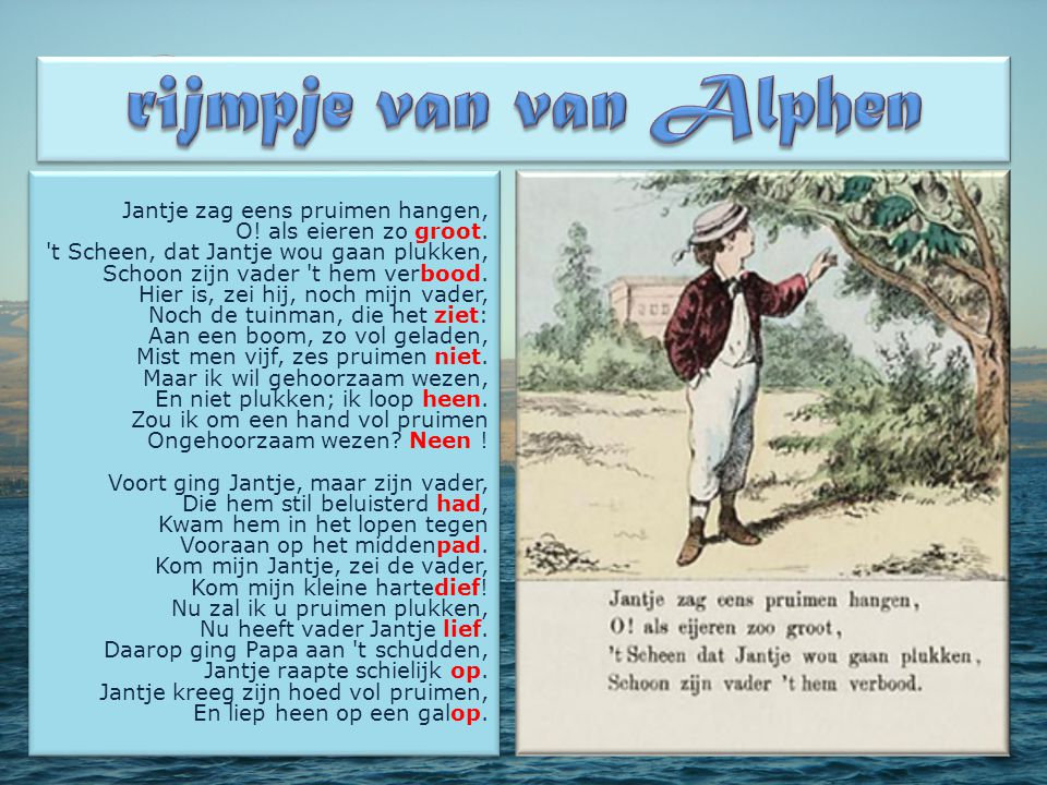 rijmpje van van Alphen