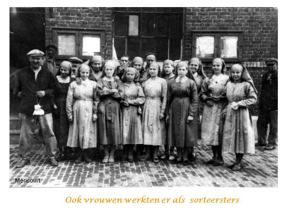 Ook vrouwen werkten er als sorteersters
