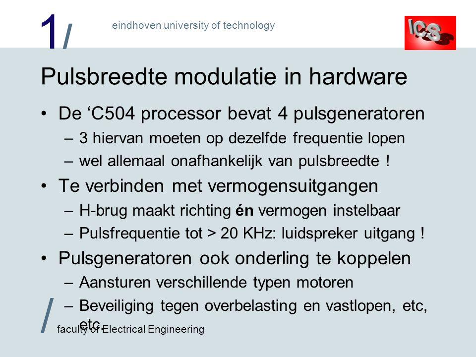 Pulsbreedte modulatie in hardware
