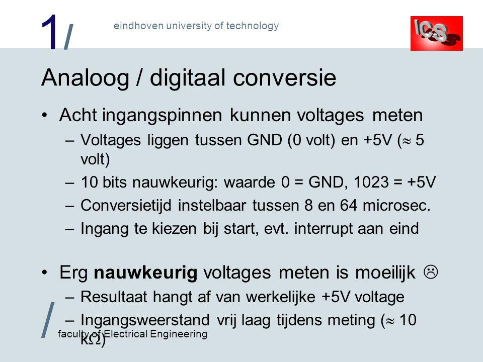 Analoog / digitaal conversie