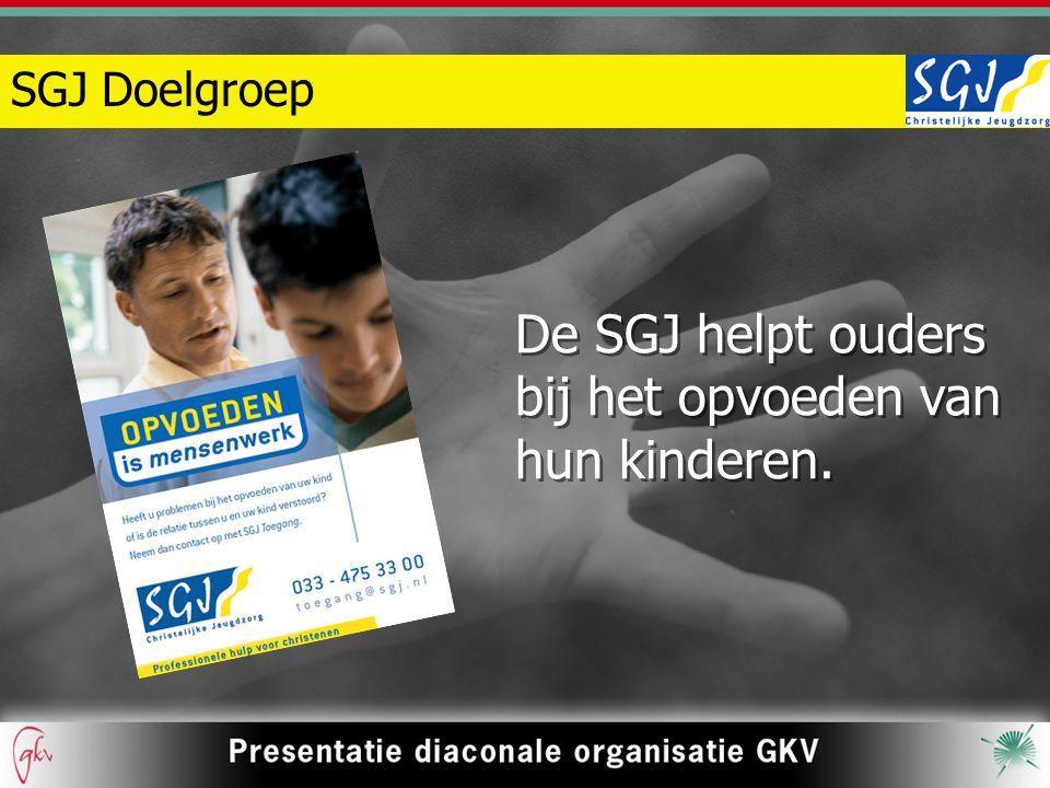 De SGJ helpt ouders bij het opvoeden van hun kinderen.