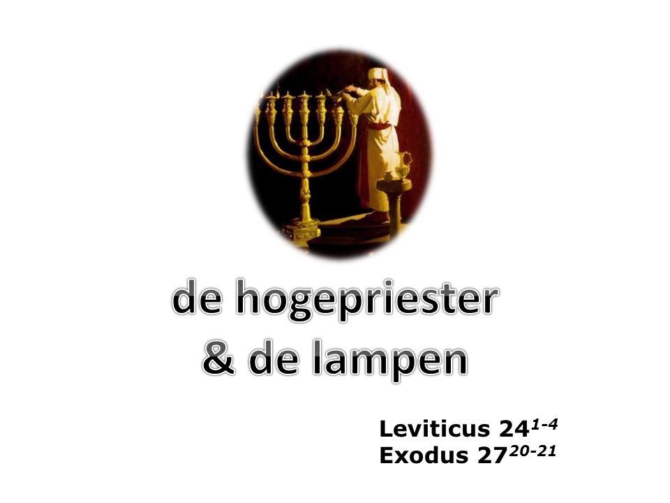 de hogepriester & de lampen