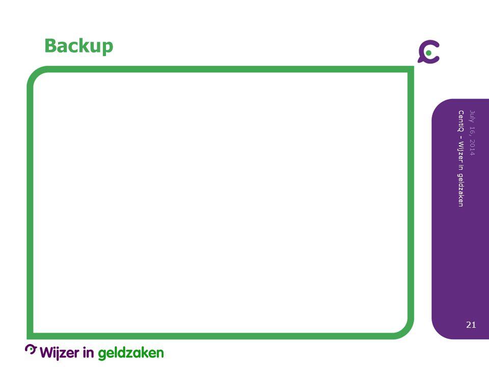 Backup April 4, 2017 CentiQ - Wijzer in geldzaken