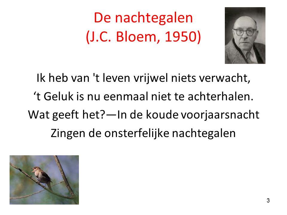 De nachtegalen (J.C. Bloem, 1950)