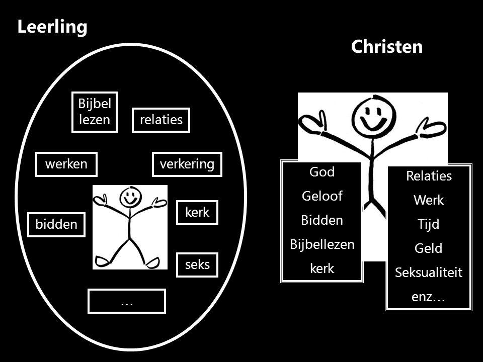 Leerling Christen Bijbel lezen relaties werken verkering God Geloof