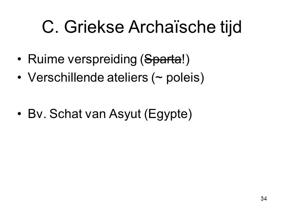C. Griekse Archaïsche tijd