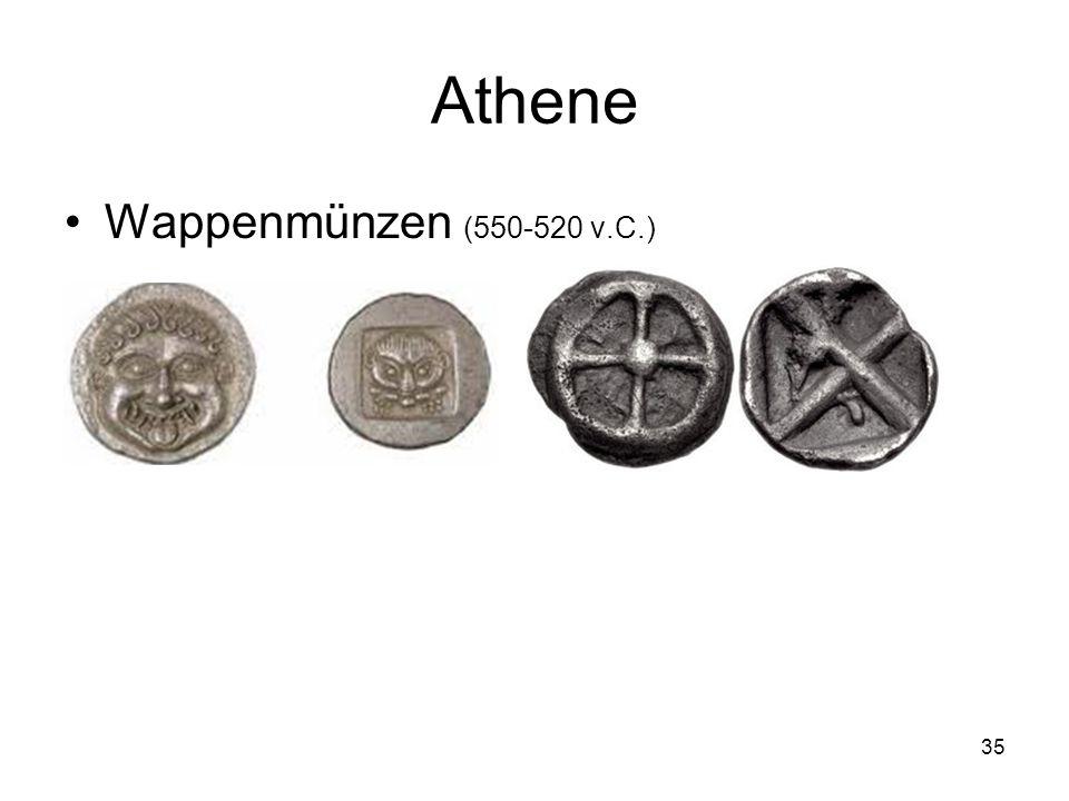 Athene Wappenmünzen (550-520 v.C.)