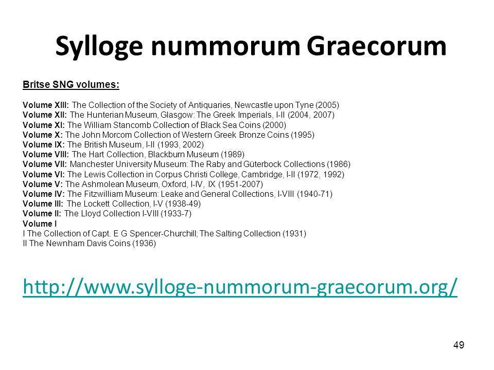 Sylloge nummorum Graecorum