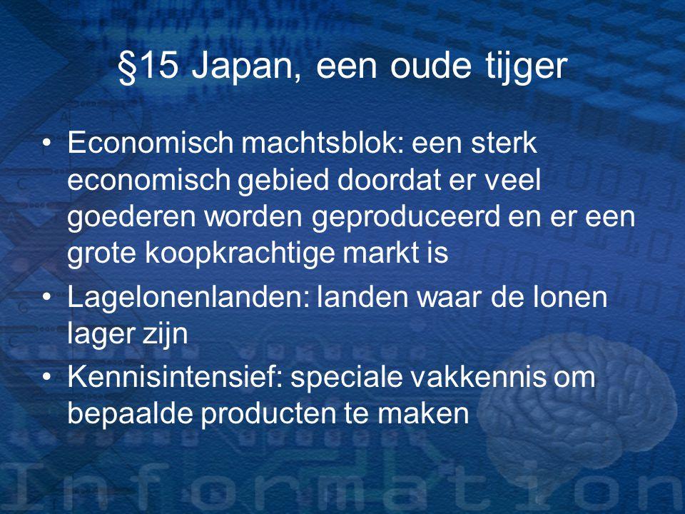 §15 Japan, een oude tijger
