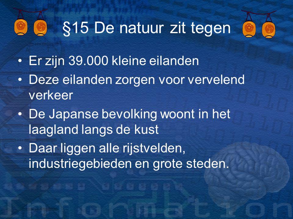 §15 De natuur zit tegen Er zijn 39.000 kleine eilanden