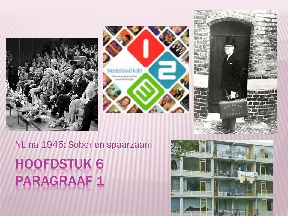 NL na 1945: Sober en spaarzaam