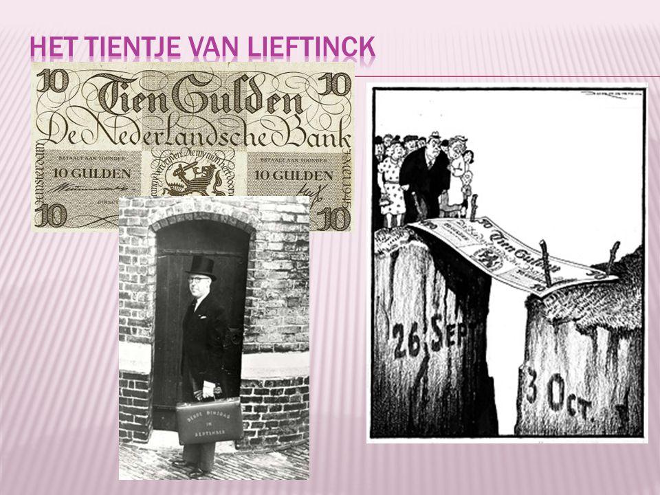 Het tientje van Lieftinck