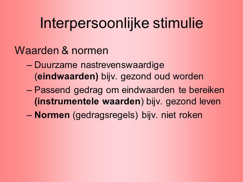Interpersoonlijke stimulie