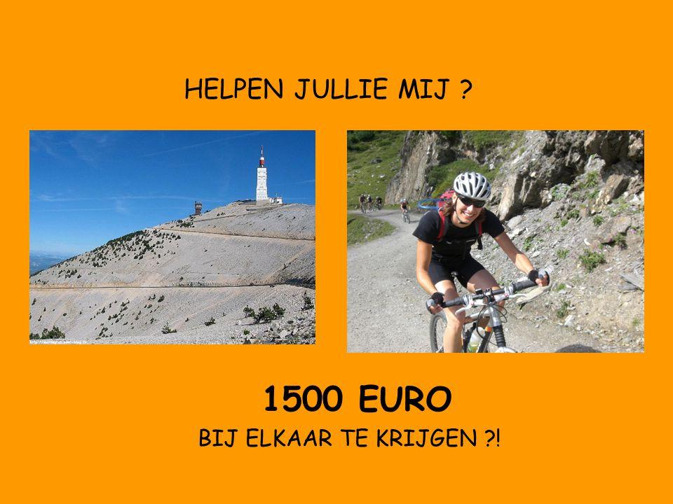 1500 EURO BIJ ELKAAR TE KRIJGEN !