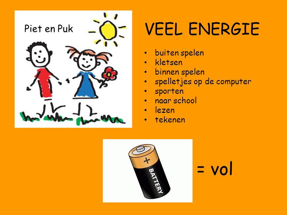 = vol Piet en Puk VEEL ENERGIE buiten spelen kletsen binnen spelen