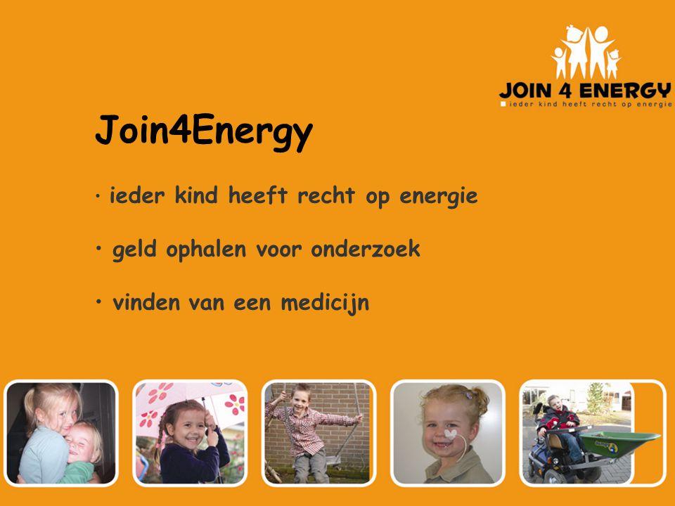 Join4Energy geld ophalen voor onderzoek vinden van een medicijn