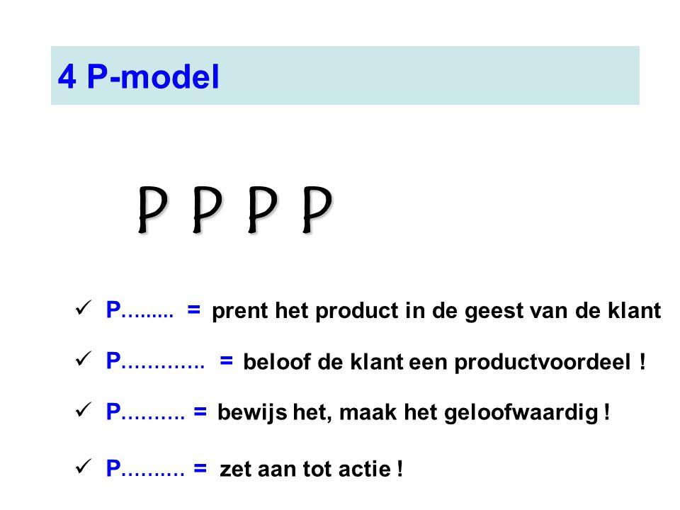 P P P P 4 P-model P…...... = P…………. = P………. = P…….… =