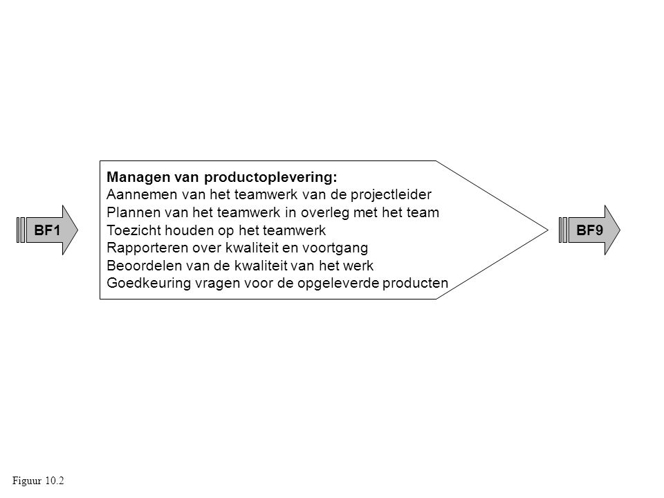 Managen van productoplevering: