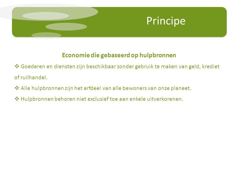 Economie die gebaseerd op hulpbronnen