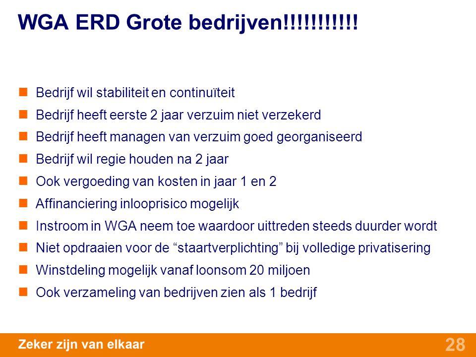 WGA ERD Grote bedrijven!!!!!!!!!!!