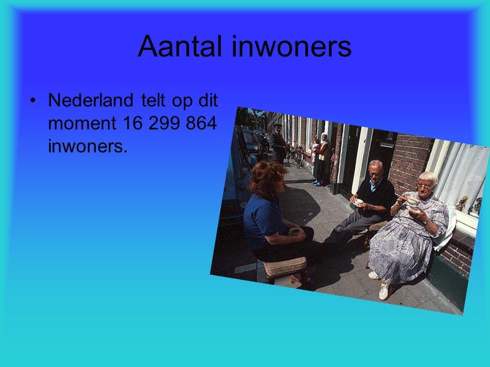 Aantal inwoners Nederland telt op dit moment 16 299 864 inwoners.