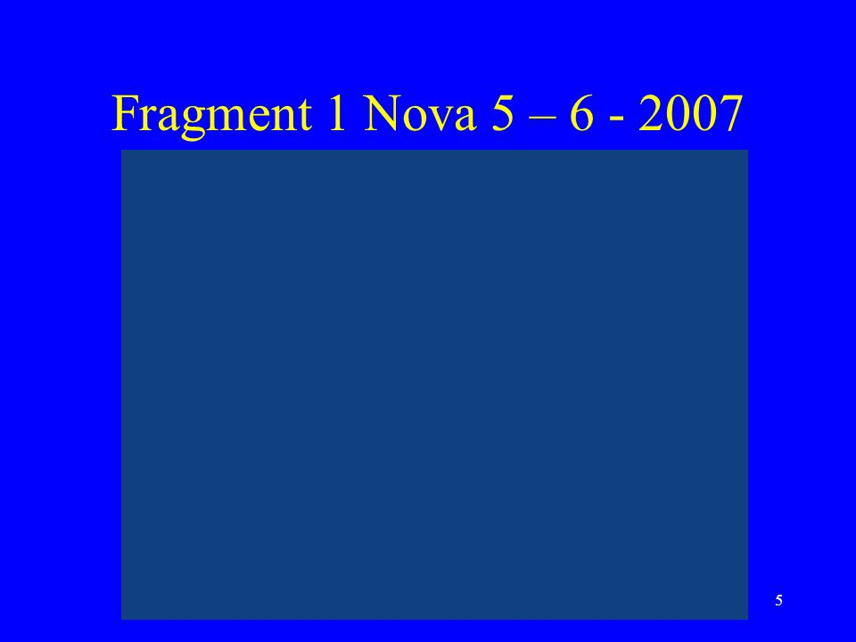 Fragment 1 Nova 5 – 6 - 2007 Stag Rijnstreek 20-6-2007