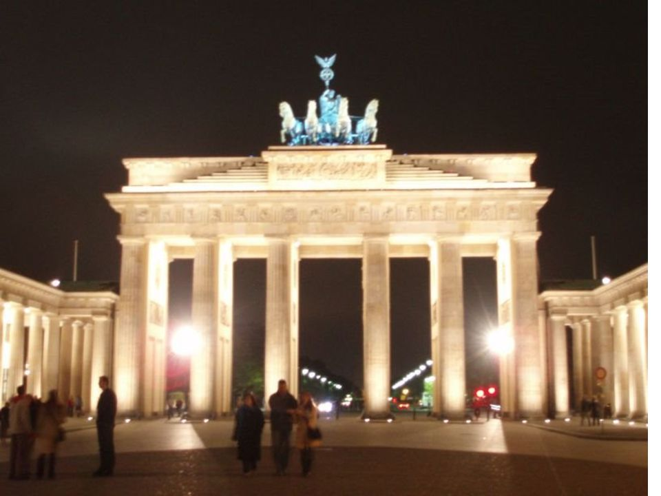 Dit is; de Brandenburger tor.