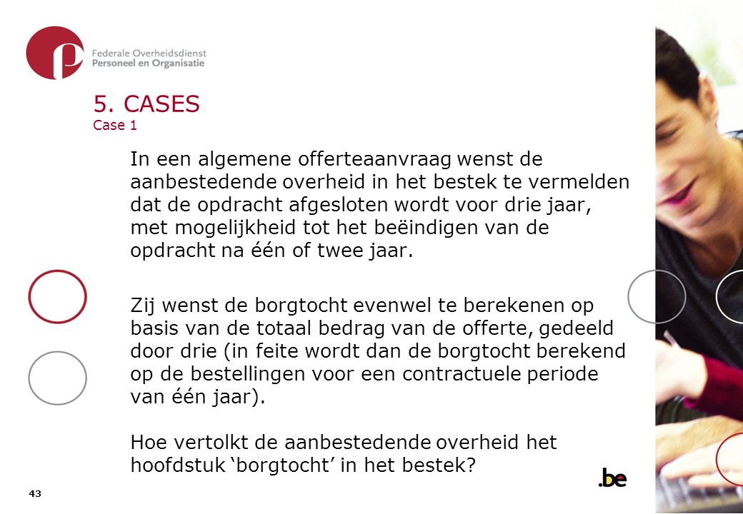 5. CASES Case 1 - Oplossing