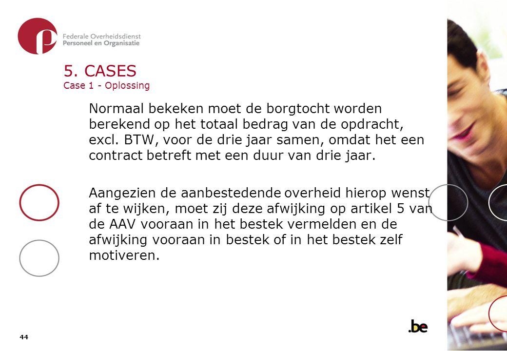 5. CASES Case 2