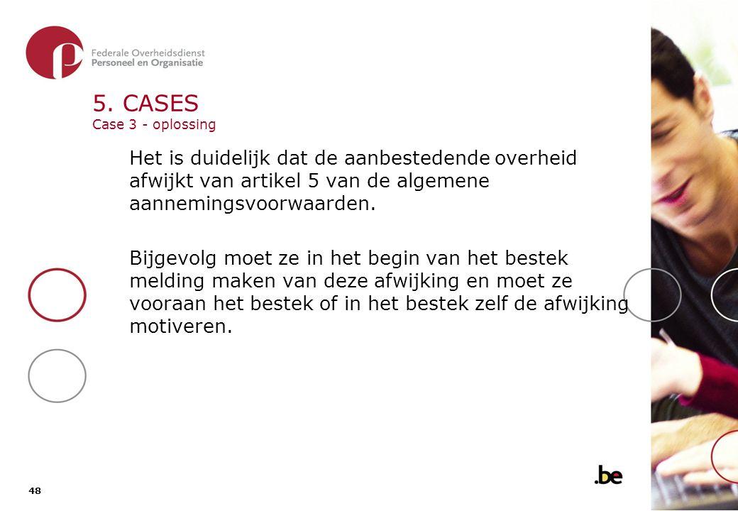 5. CASES Case 4
