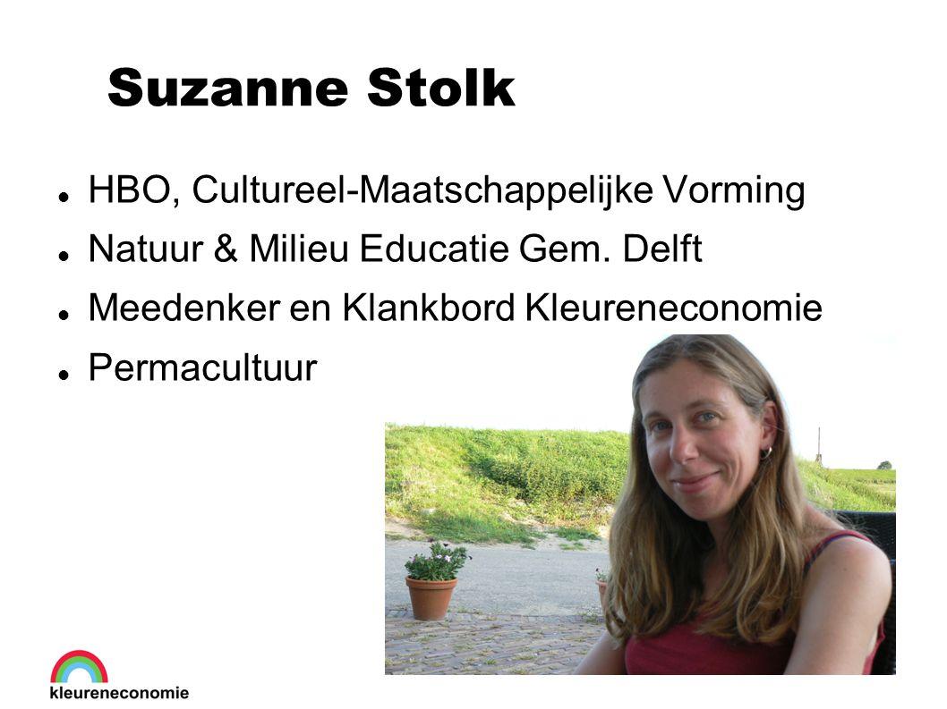 Suzanne Stolk HBO, Cultureel-Maatschappelijke Vorming