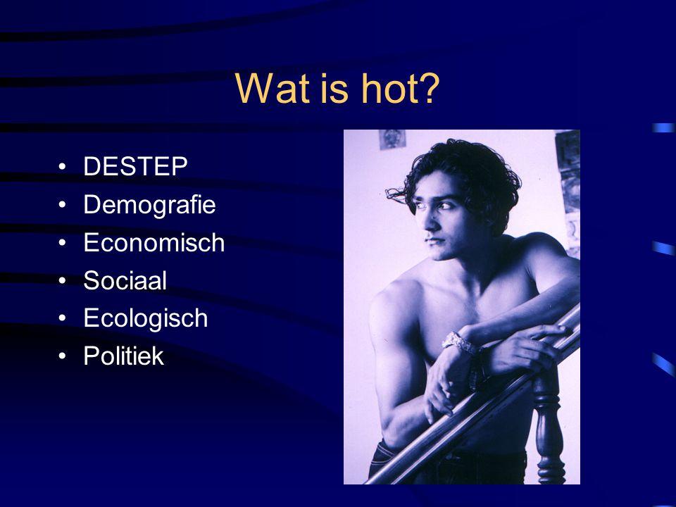 Wat is hot DESTEP Demografie Economisch Sociaal Ecologisch Politiek