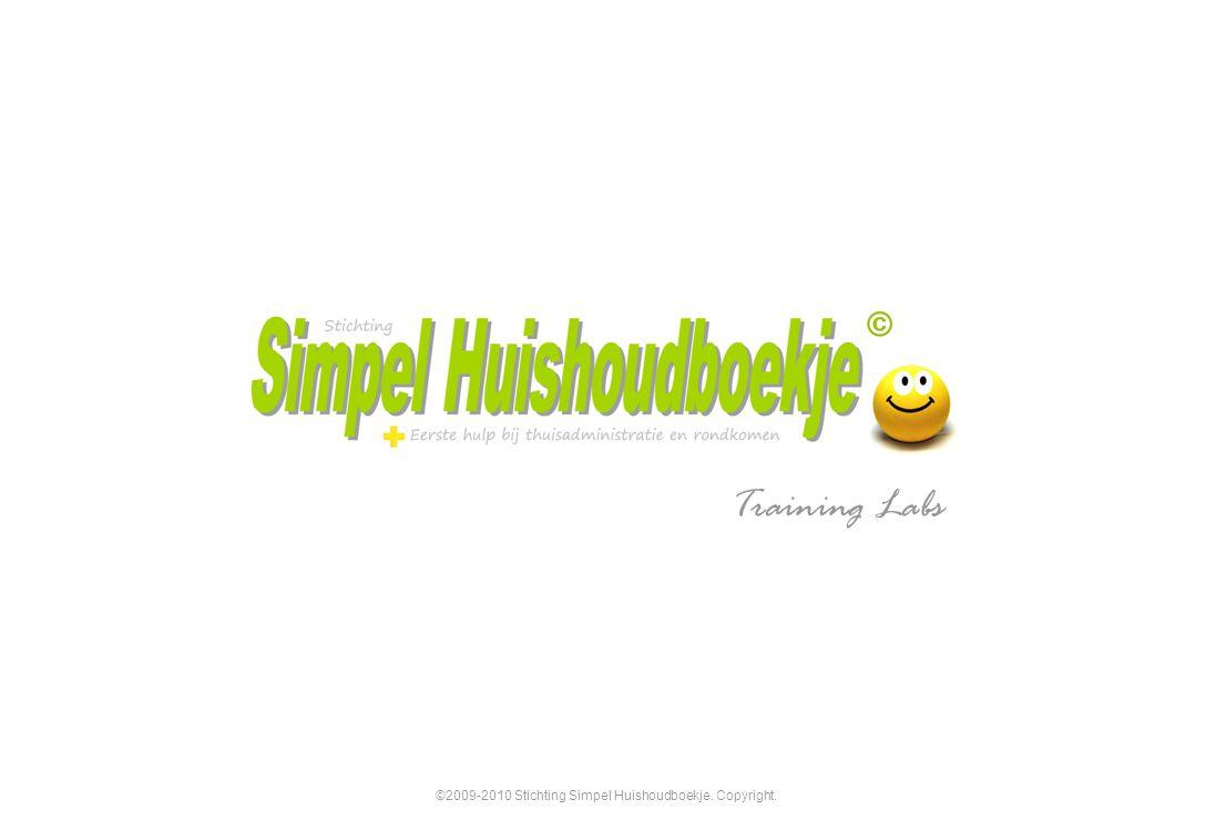 ©2009-2010 Stichting Simpel Huishoudboekje. Copyright.